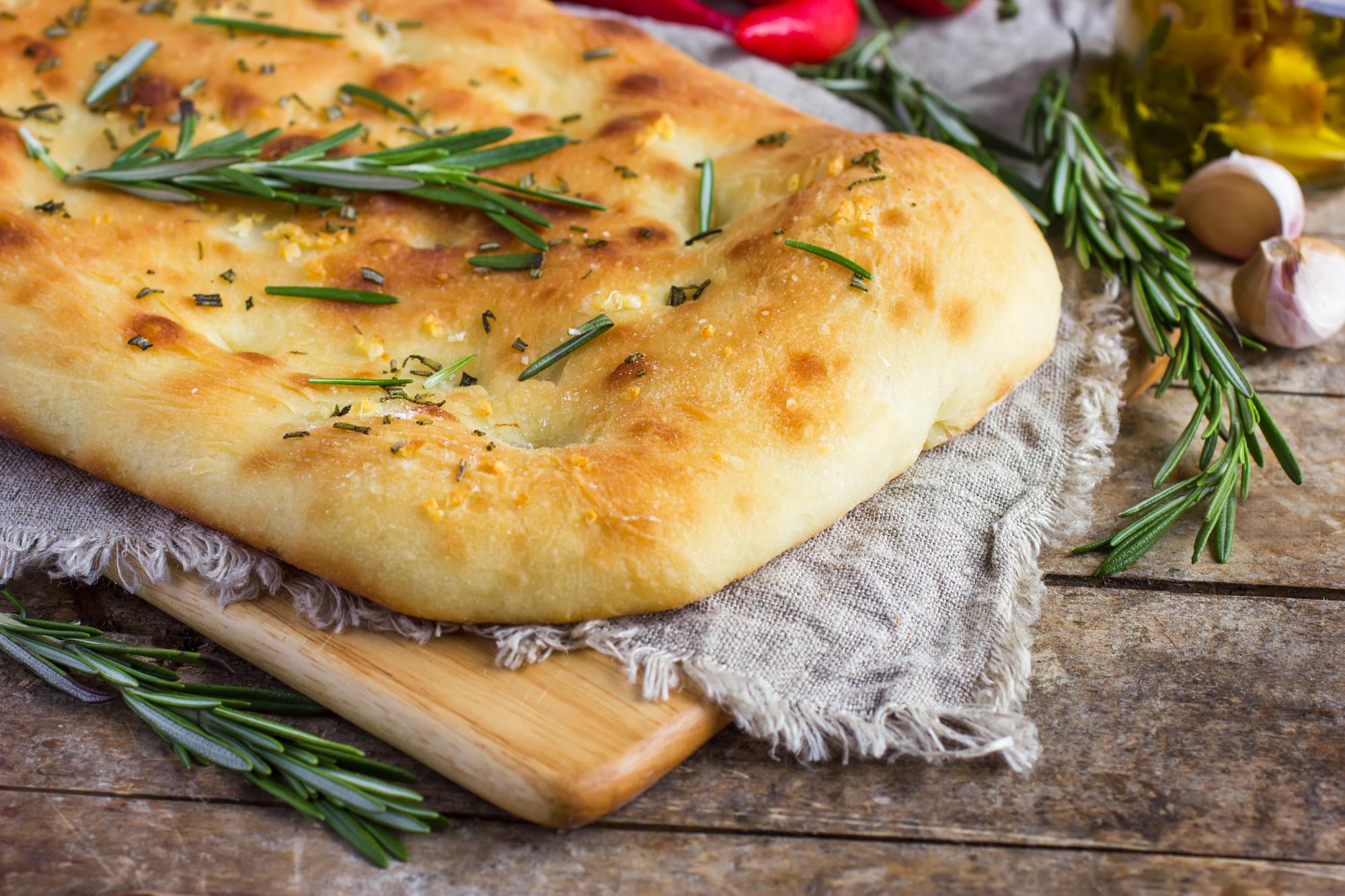 """Итальянский хлеб """"Фокачча"""""""