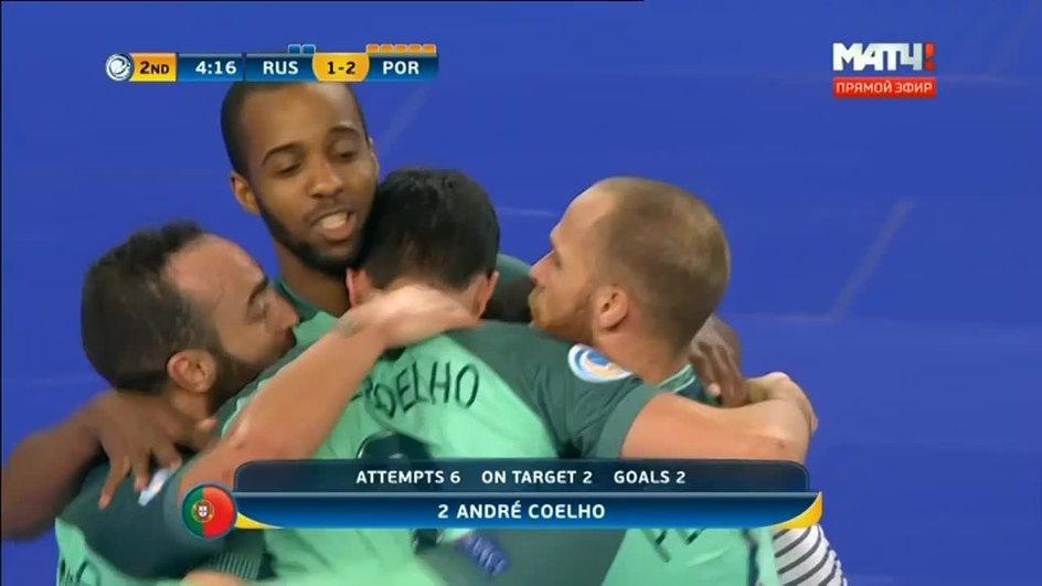Фото Россия - Португалия - 2:3. Голы (видео)