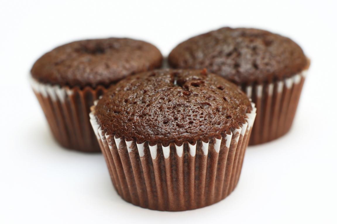 Вкуснейшие шоколадные маффины с заварным кремом
