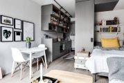 Идеи вашего дома: Как из тесной коробки сделать шикарные апартаменты: 30 кв метров функционального и стильного дизайна