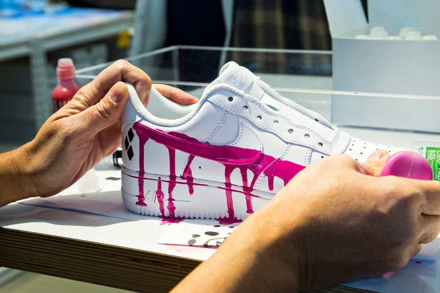 Photo of Krink Customizes Nike's Air Force 1 With Exclusive Designs