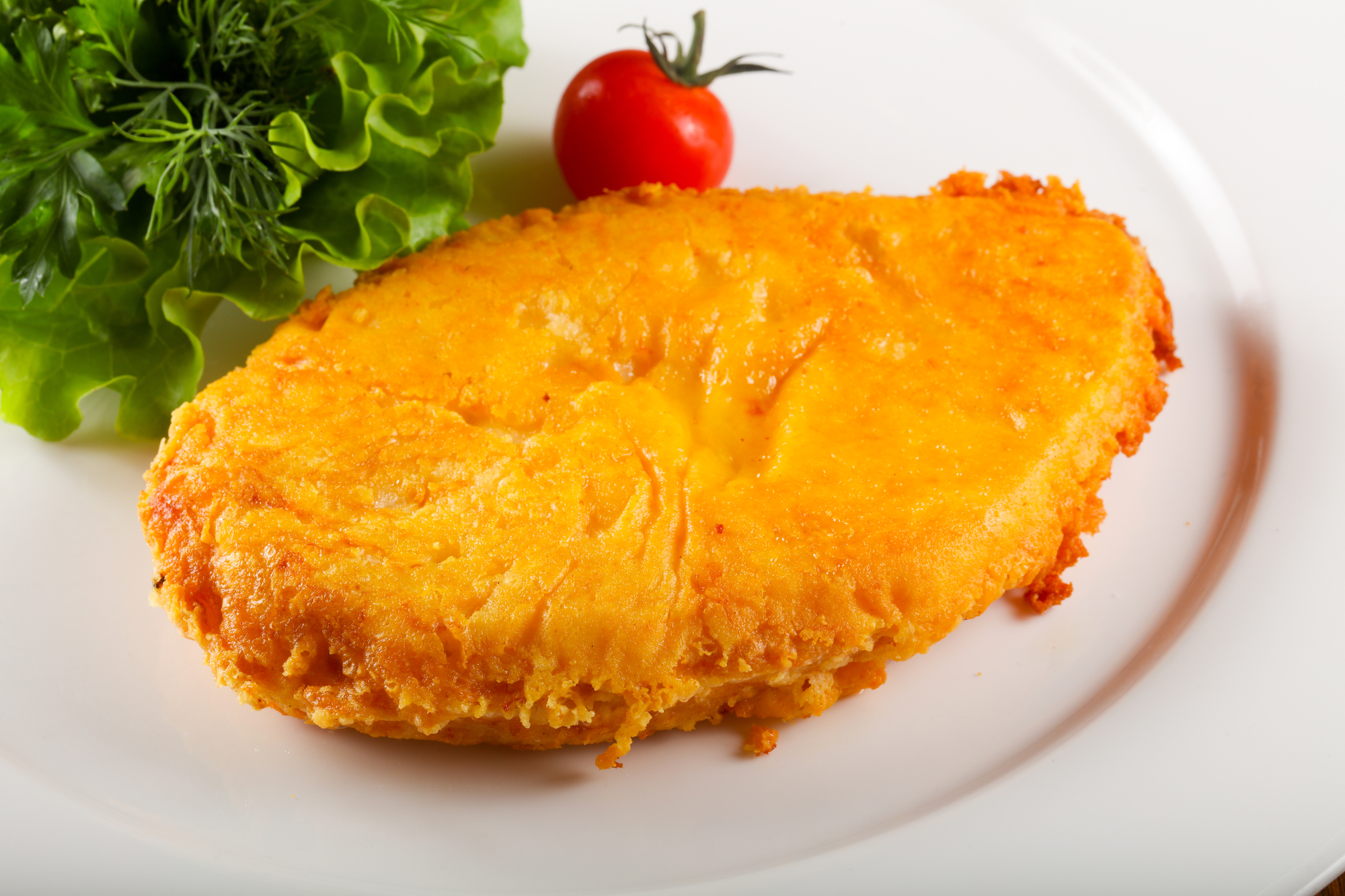 Куриное филе в сырном кляре