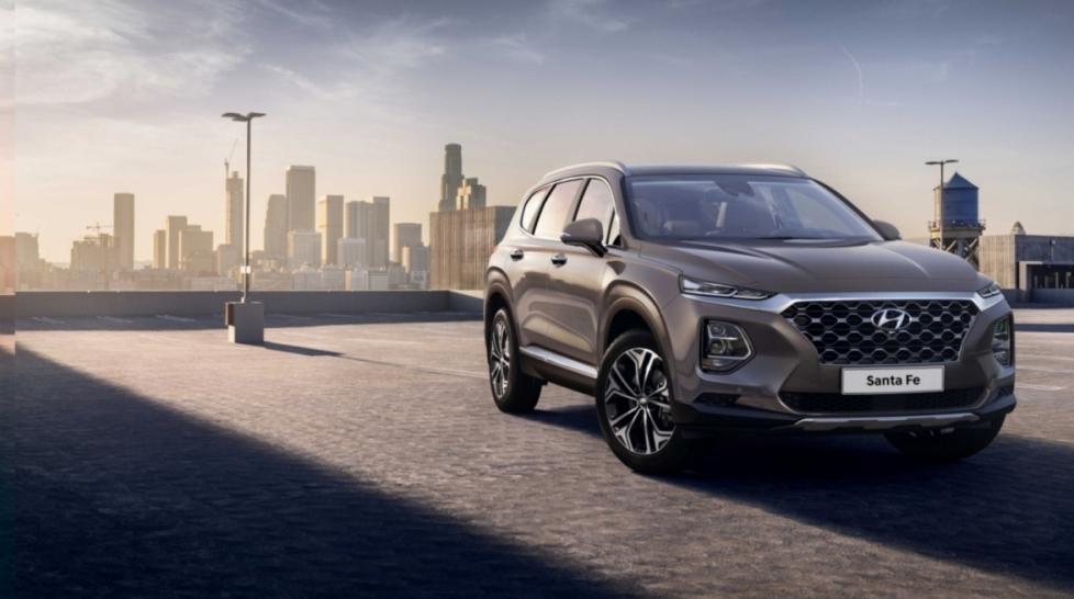 Hyundai официально представила Santa Fe нового поколения