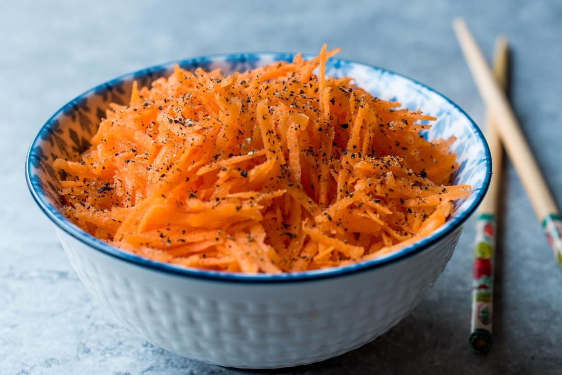 Вкуснейшая домашняя морковь по-корейски