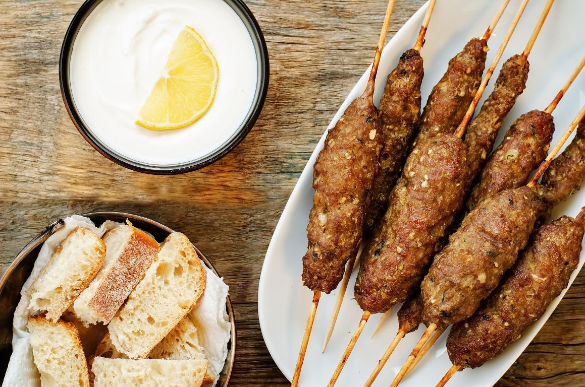 Домашний люля-кебаб из баранины