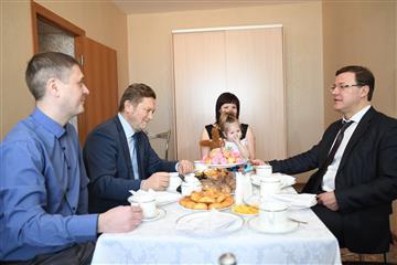 """Фото В арендный дом ПАО """"Кузнецов"""" въезжают новоселы"""