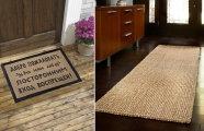 Идеи вашего дома: Как выбрать такой половик, чтобы можно было реже убираться в квартире