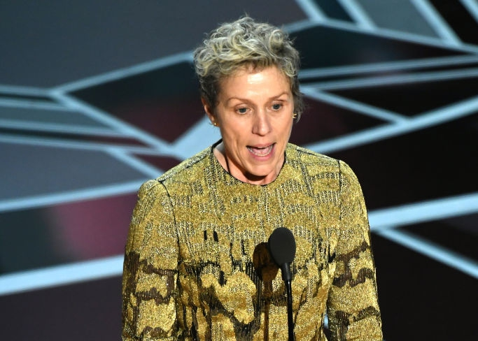 """Photo of What is an """"inclusion rider""""? This is what Frances McDormand was talking about during her 2018 Oscars speech"""