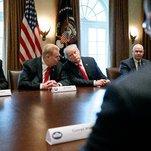 Ryan Criticizes Tariff Plan as Trump Issues Nafta Threat