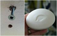 Лайфхак: 3 простых и эффективных способа, как скрыть отверстия от саморезов в стене