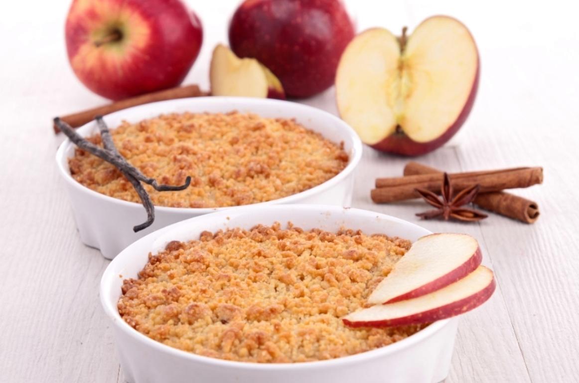 Вкуснейший яблочный крамбл