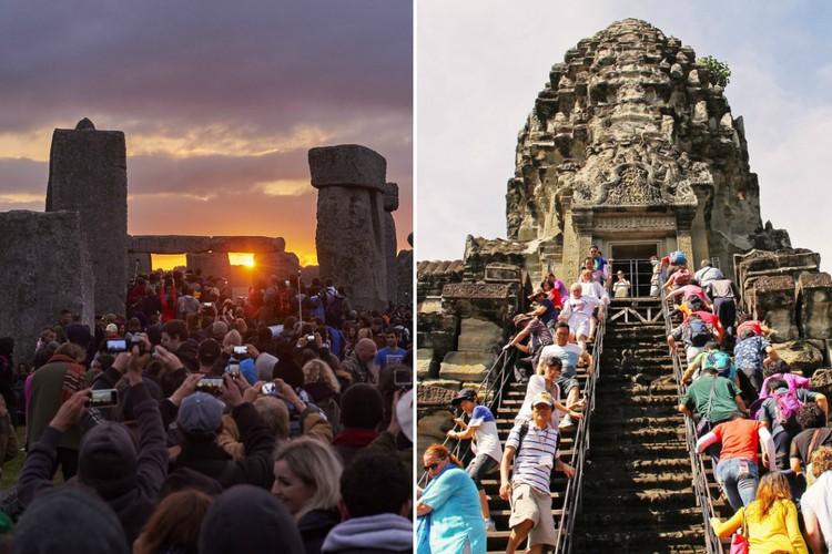 Фото Популярные места со всего мира, разрушенные туризмом