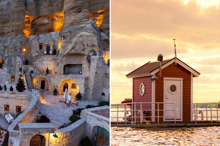 Удивительные отели отовсюду, поражающие туристов