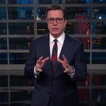 Stephen Colbert Cracks North Korea Jokes on the Fly