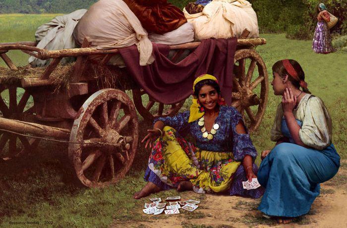 Фото Цыганская жизнь, запечатленная на киноплёнке
