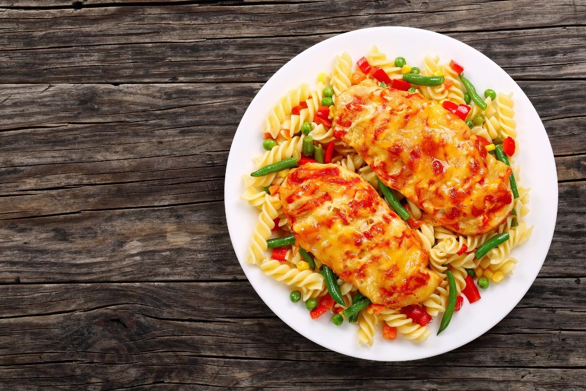 Вкуснейшая курица по-итальянски