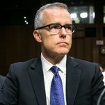 Photo of Andrew McCabe, a Symbol of Trump's F.B.I. Ire, Faces Possible Firing