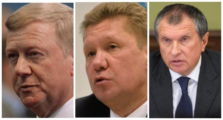Чубайс против Сечина. Сколько получают боссы российских госкомпаний