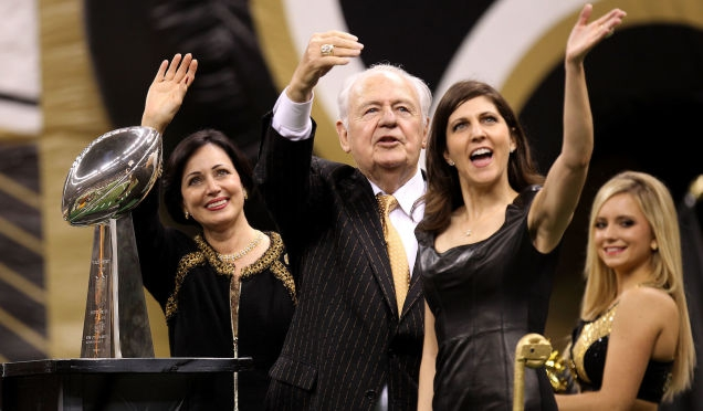 Photo of Saints And Pelicans Owner Tom Benson Dead At 90