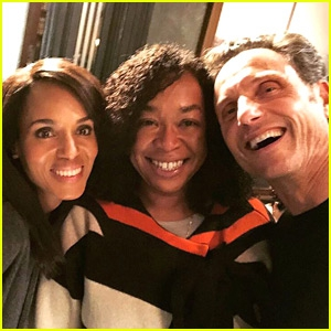 Photo of Kerry Washington & Co-Stars Share Tributes After Wrapping Production of 'Scandal'