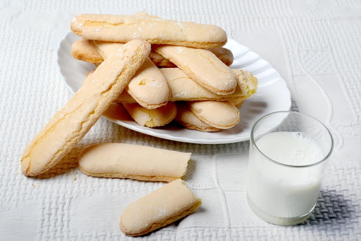 """Домашнее бисквитное печенье """"Савоярди"""""""