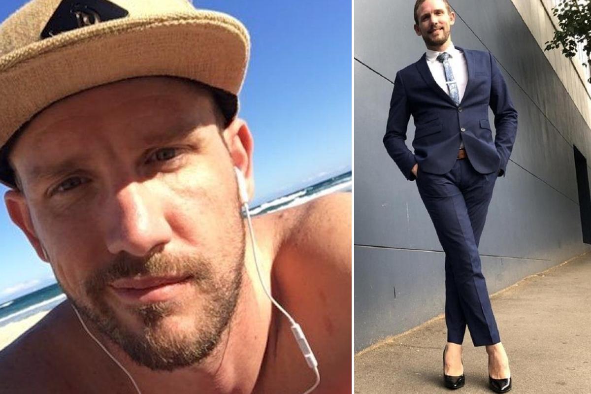 30-летний мужчина повысил самооценку, когда начал ходить на каблуках