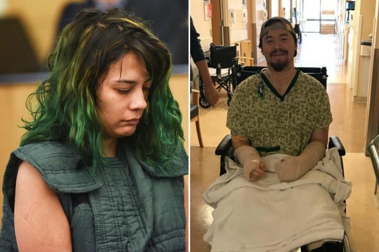 Девушка покромсала мечом забившего на секс парня-геймера