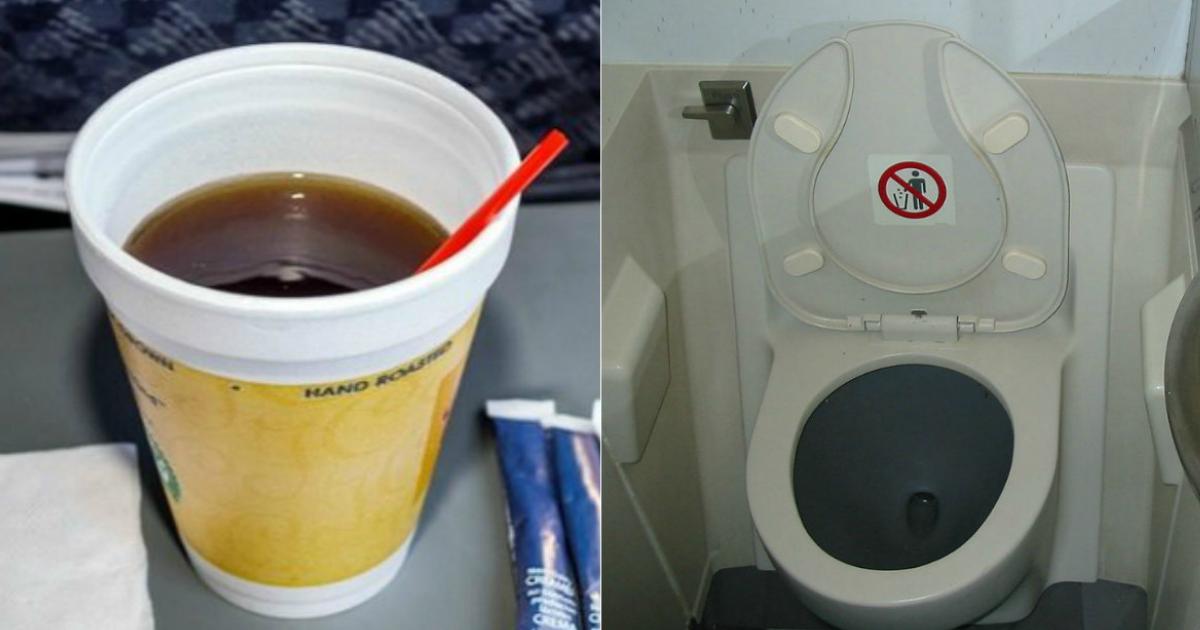 Не пейте самолетный чай! 9 способов подцепить в самолете какую-нибудь гадость