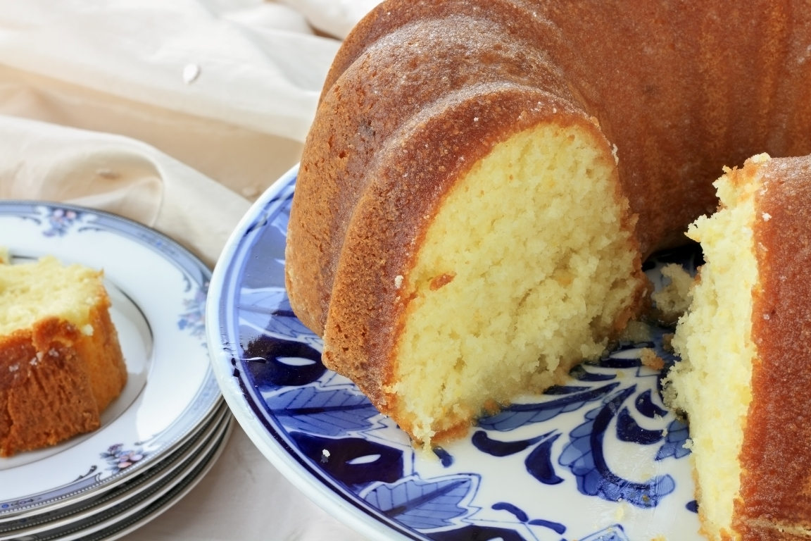 Аппетитный пирог с лимоном