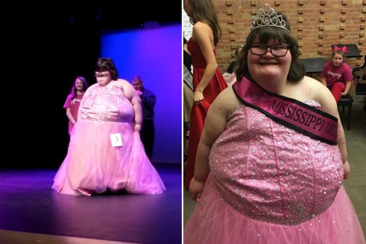 Фото Не модельная внешность: 172-килограммовая девушка стала королевой красоты