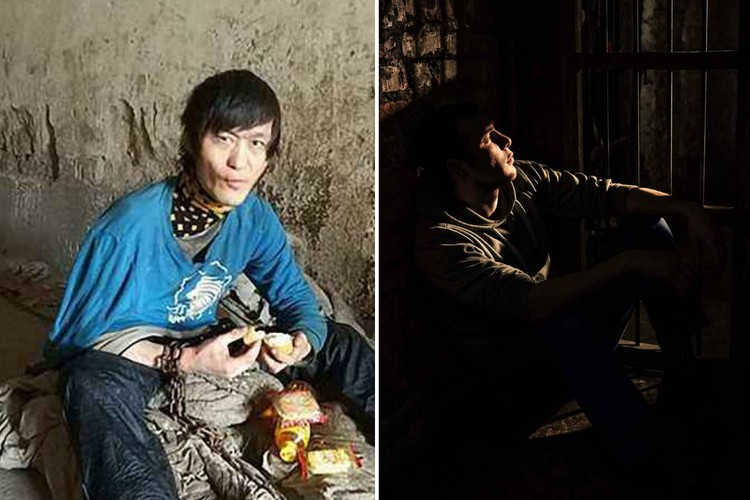 В Китае мать более 10 лет держала глухонемого сына на цепи