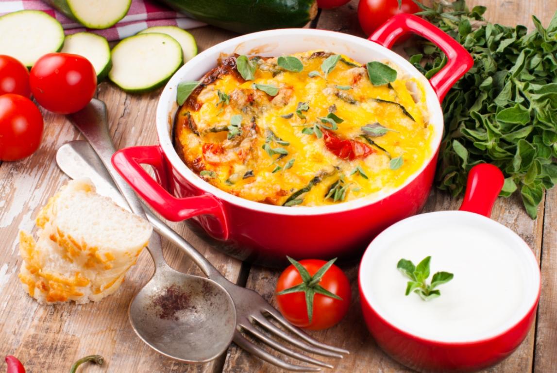 Аппетитная овощная запеканка