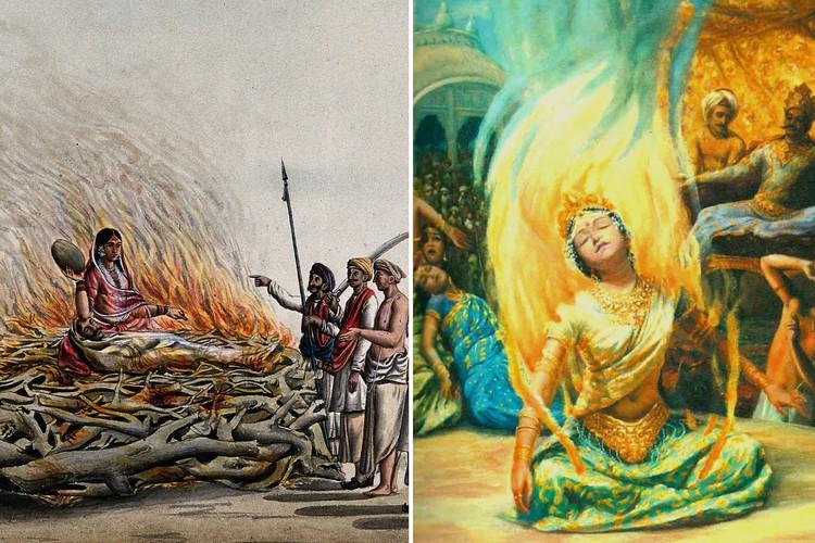 Сати, или зачем вдовы шли на самосожжение вместе с покойным мужем