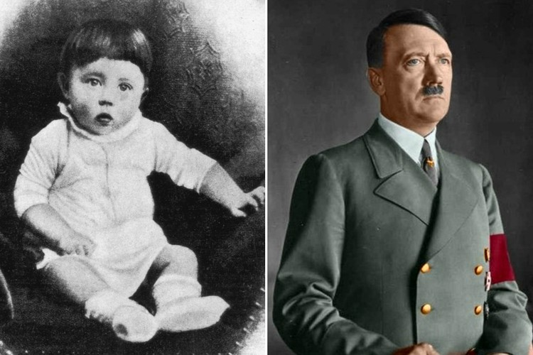 Начало: детские фото самых ненавистных и жестоких людей в истории