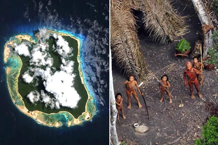 Фото Первобытность: жители острова тысячи лет никого не пускают на свои земли