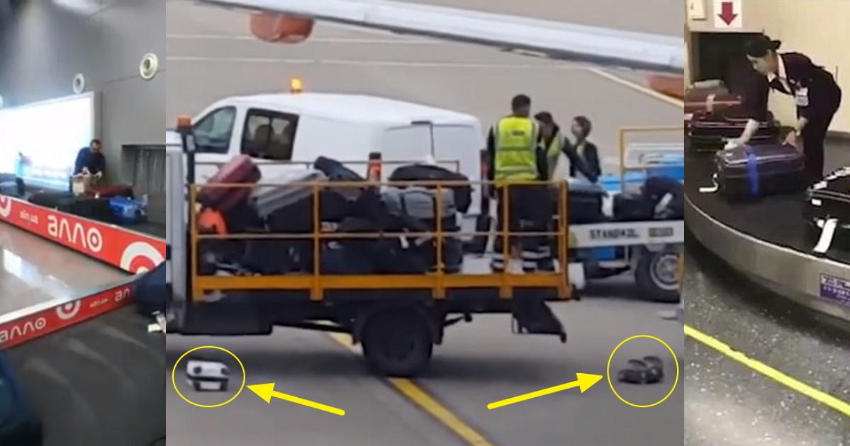 Учись, отсталая Европа! Как японцы обращаются с багажом в аэропортах