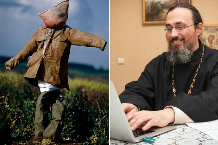Фото Веб-священник, человек-пугало и другие нелепые профессии
