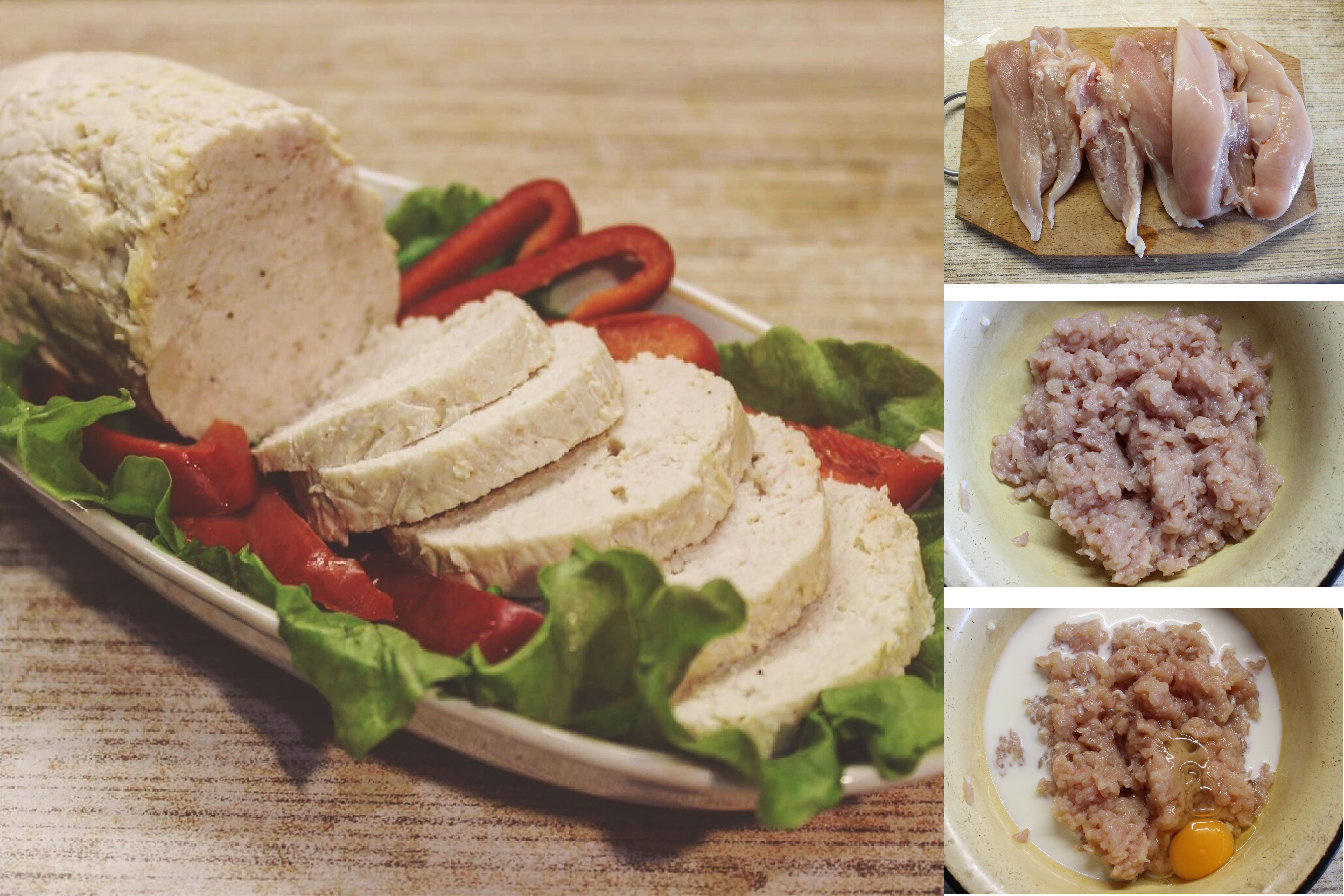 Нежная куриная колбаса в домашних условиях: пошаговый фото рецепт