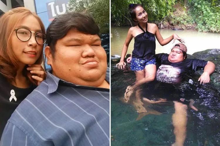 Фото Разные: 120-килограммовый таец и девушка весом в 44 кг счастливы вместе