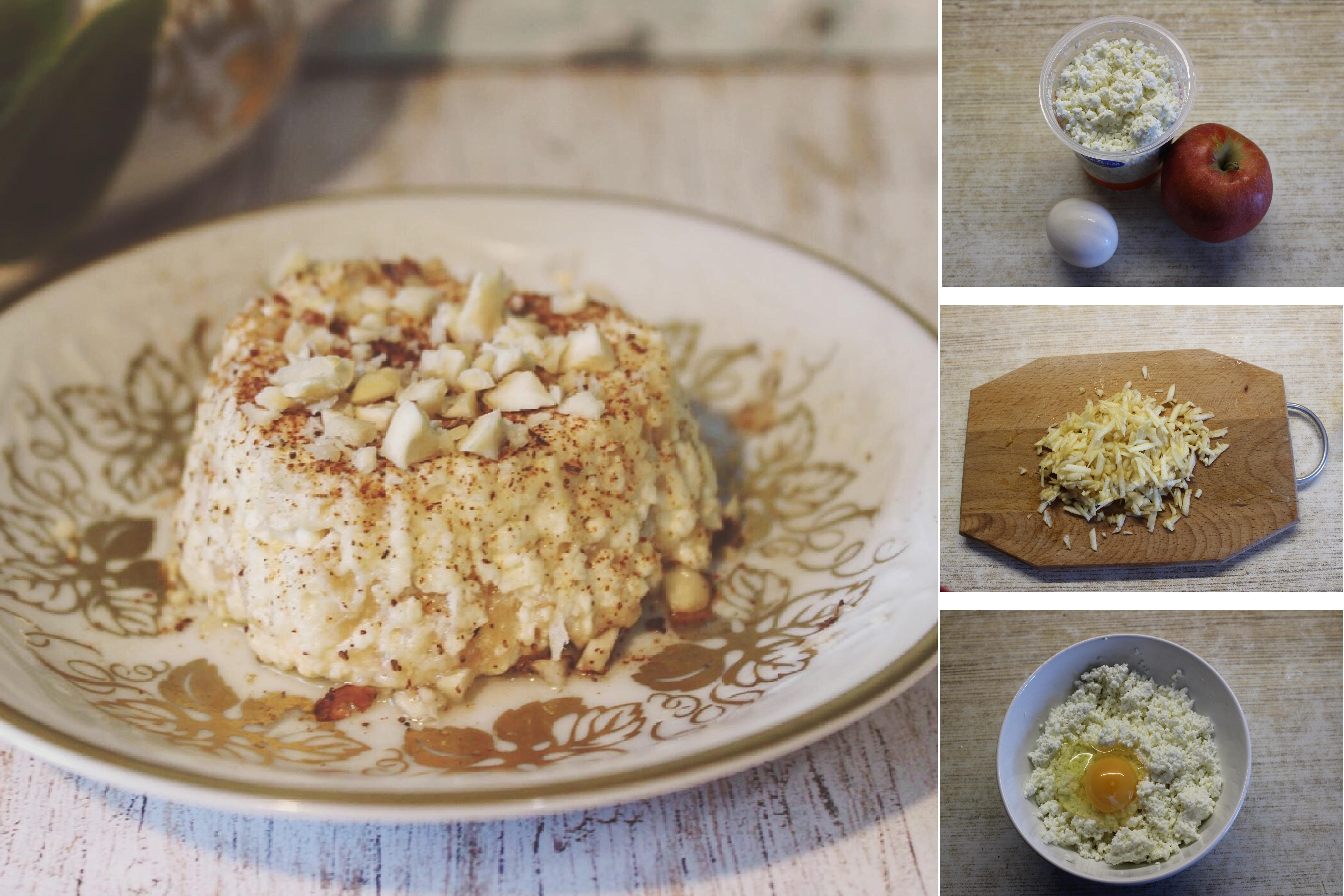 Творожно-яблочное суфле для детей из 3 ингредиентов: пошаговый фото рецепт