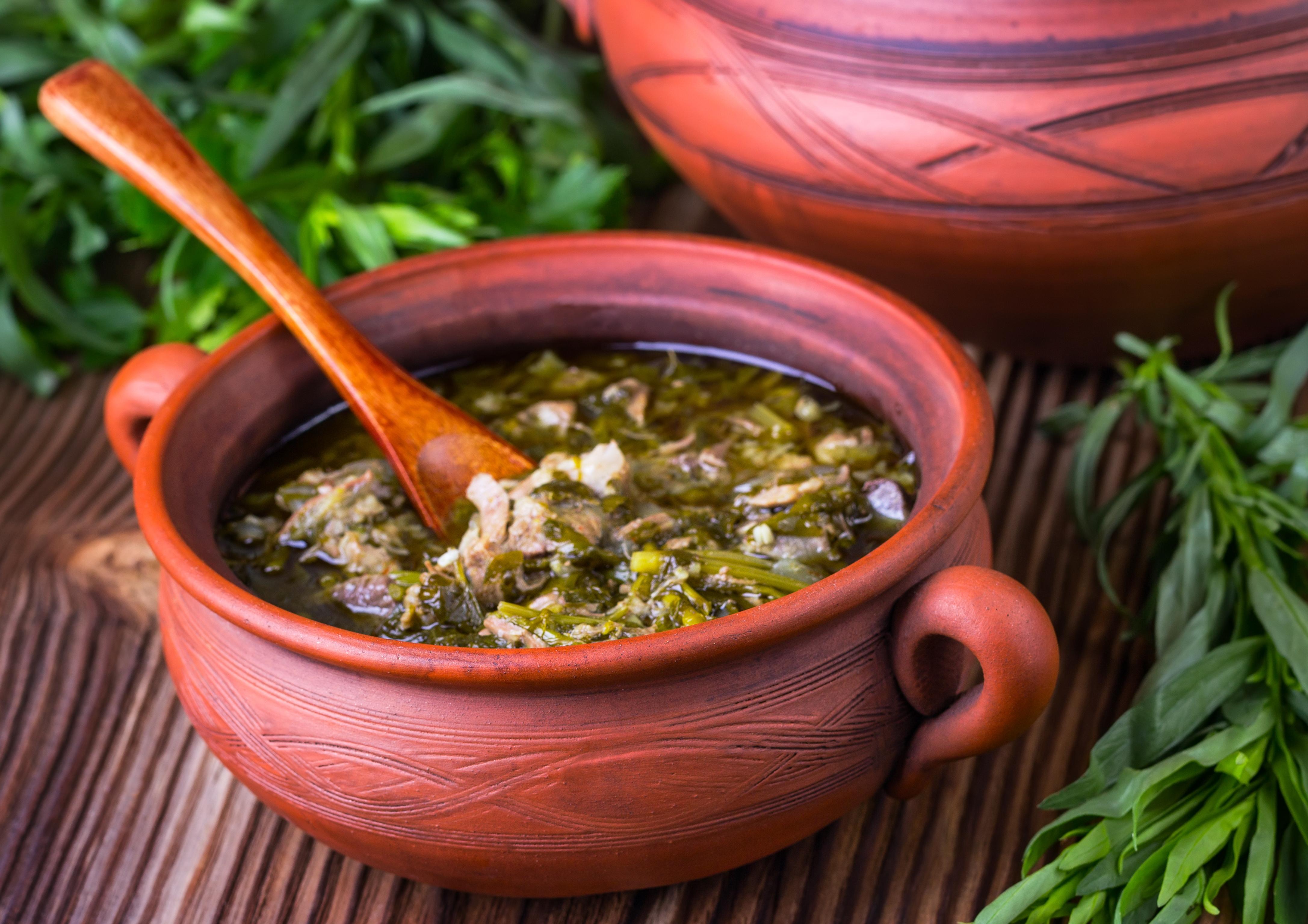Чакапули из баранины – легендарное весеннее блюдо!