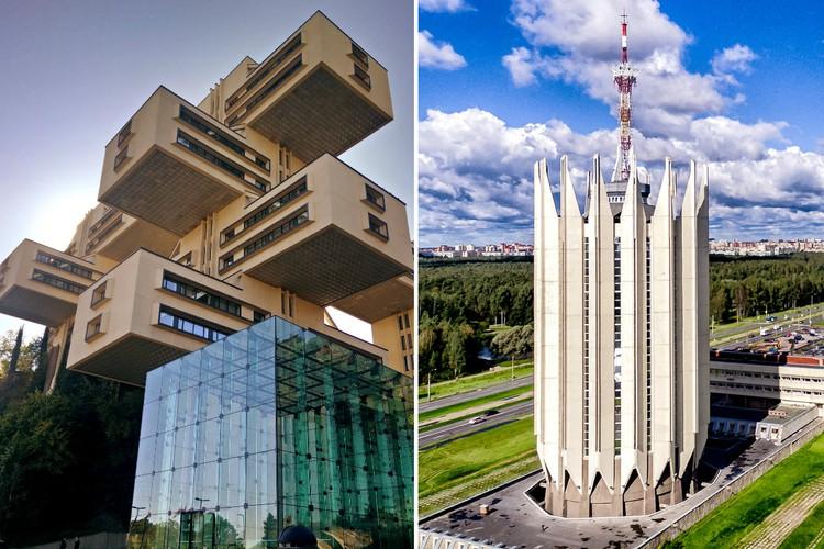 Чудеса архитектуры: футуристические здания эпохи социализма