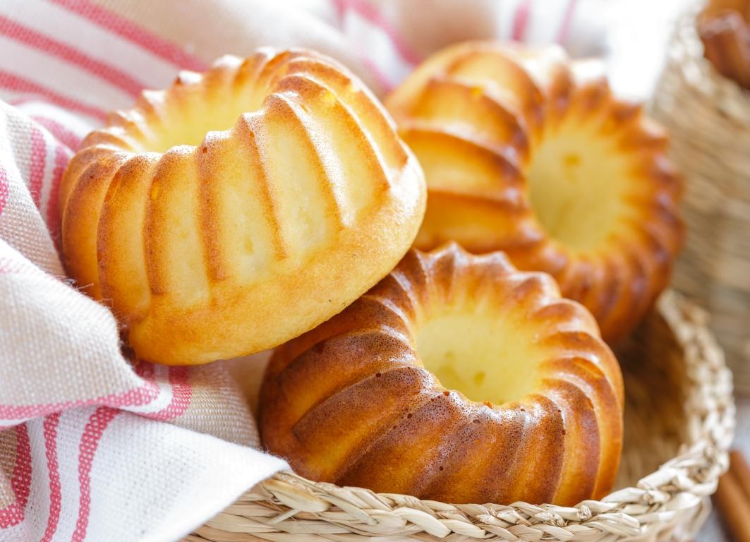 Аппетиные творожные кексы