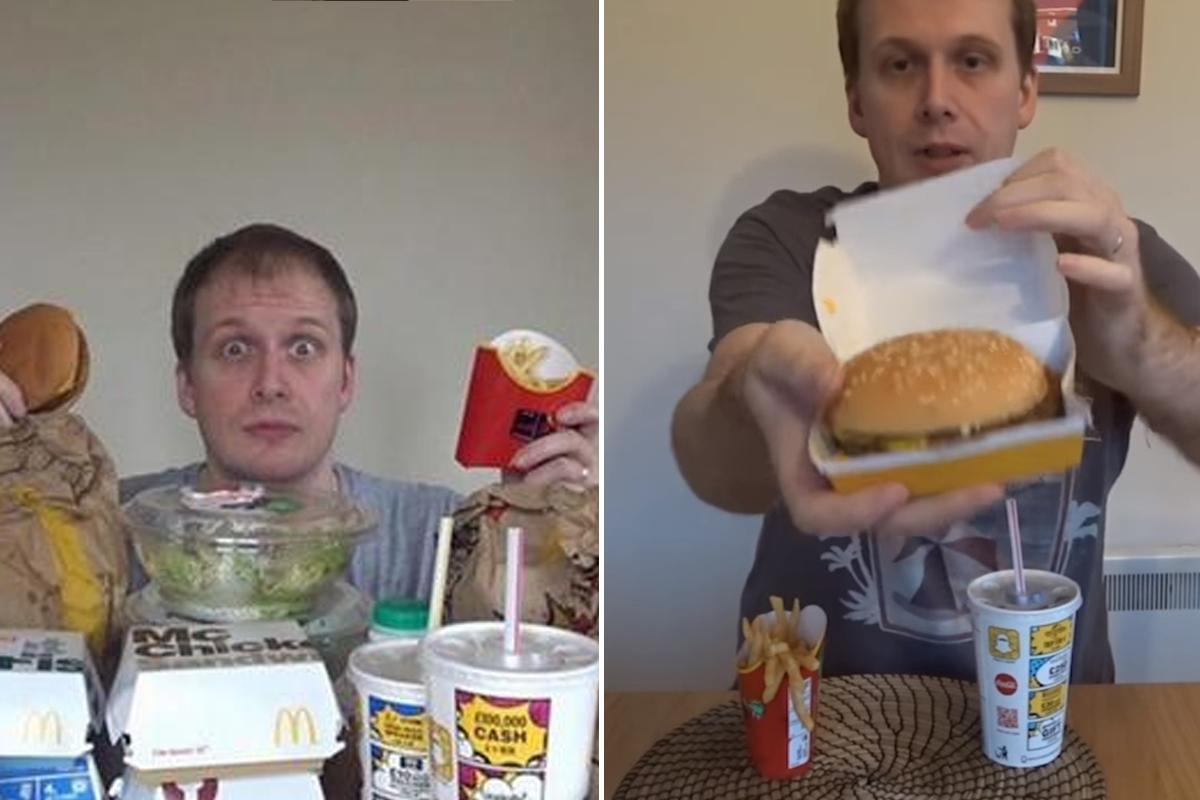 Блогер питался неделю едой из Макдональдса и похудел