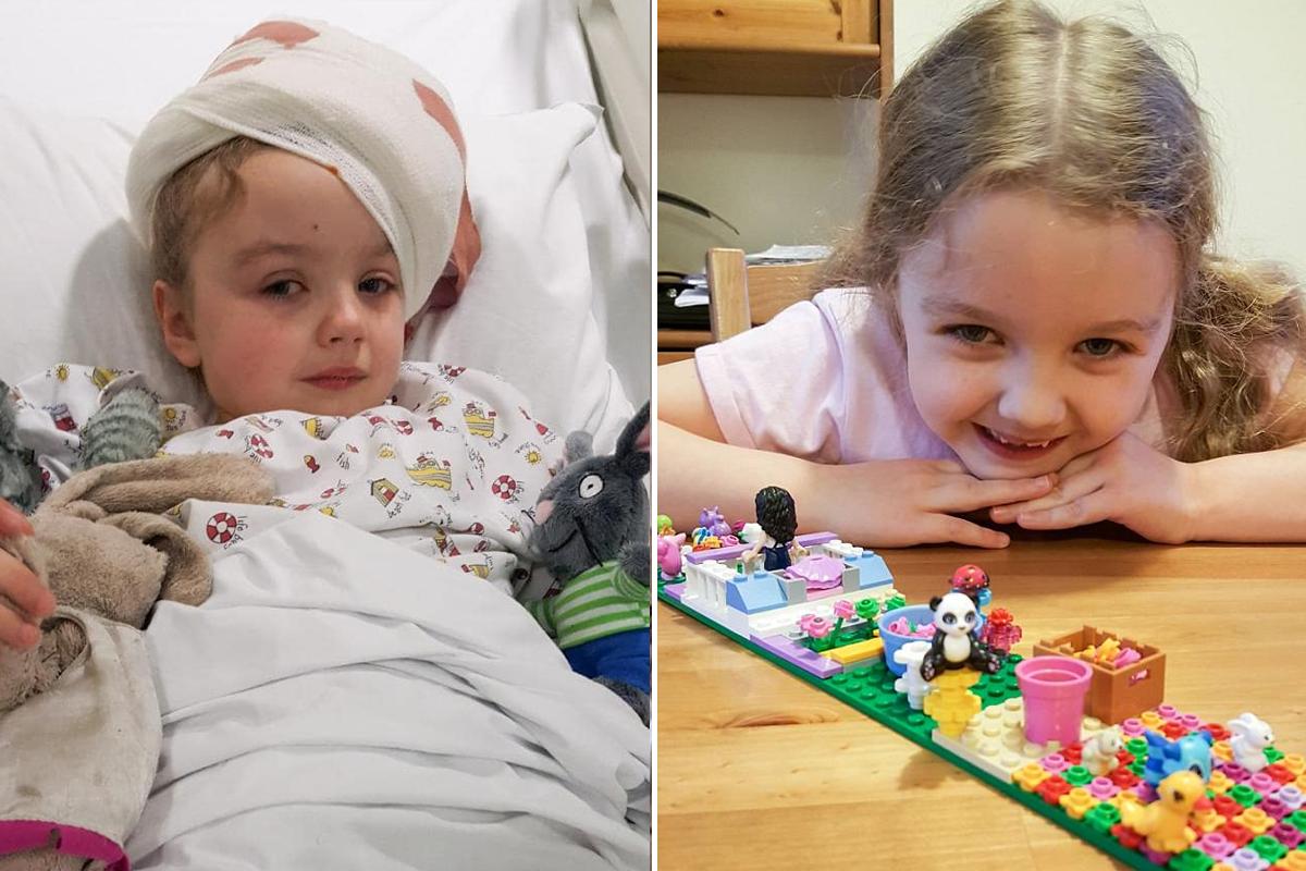 Девочке прогнозировали смерть от опухоли мозга, но ее спасла игра в мяч