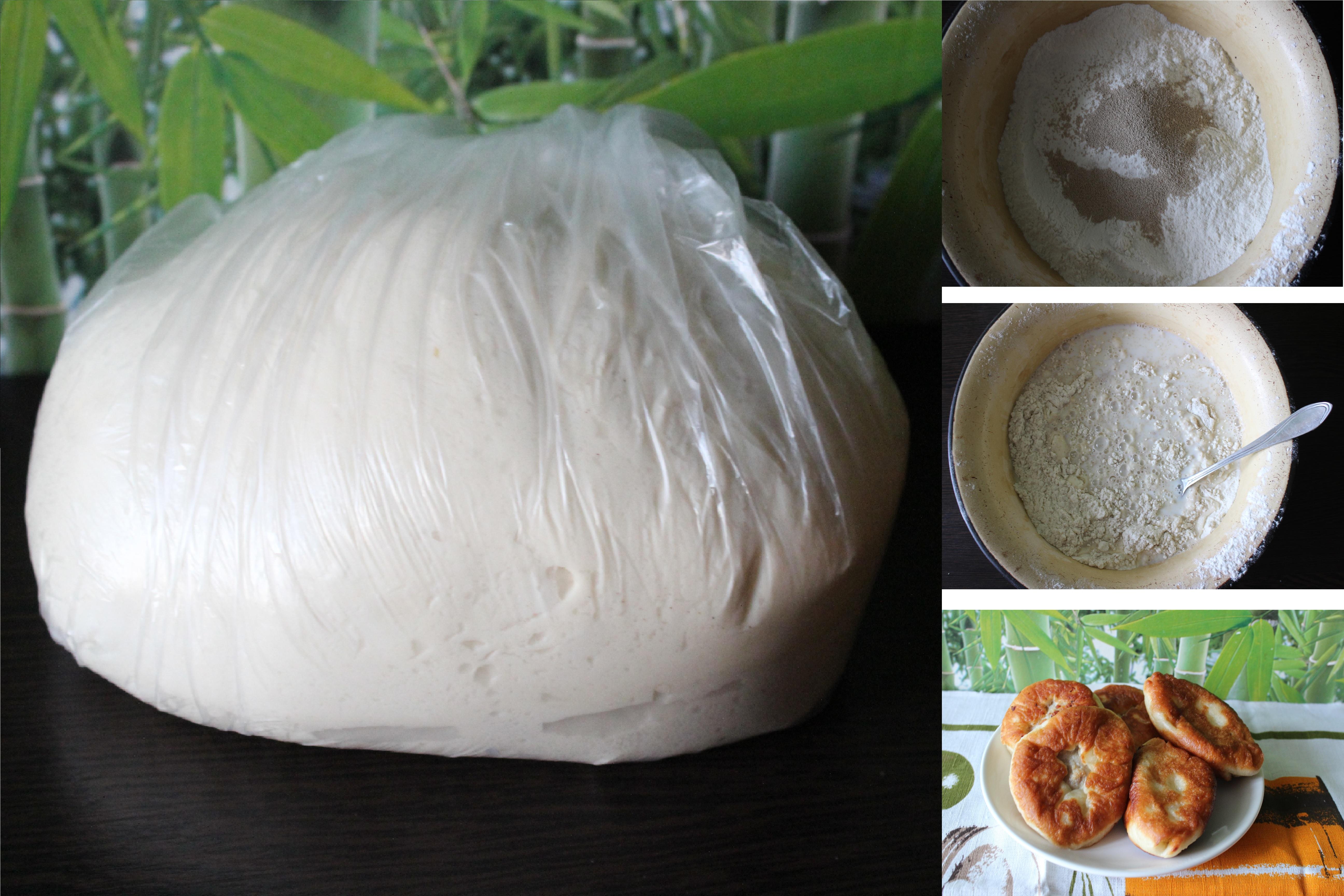 Вкусное дрожжевое тесто: пошаговый фото рецепт