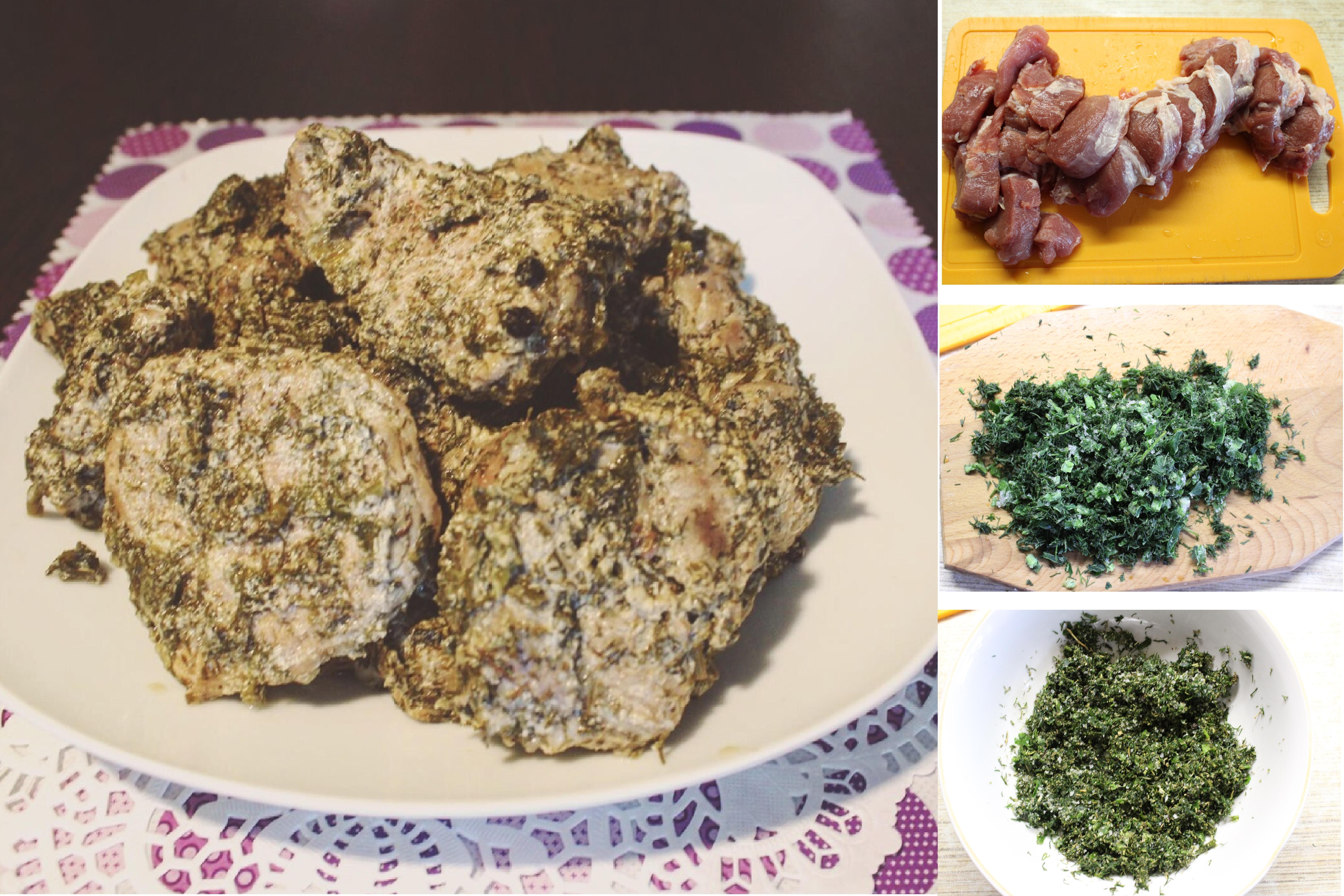 Мясо по-грузински с медом и травами: пошаговый фото рецепт