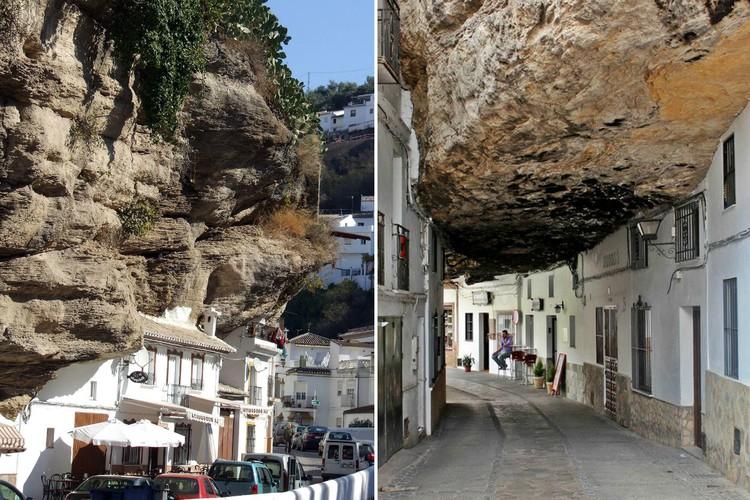 Фото Сетениль-де-лас-Бодегас: необычный город в скале