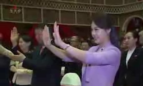 Photo of Kim Jong-un's wife makes first public appearance as first lady – video
