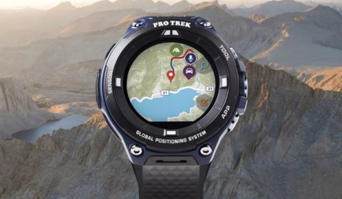 Фото Casio представила защищённые умные часы для путешественников